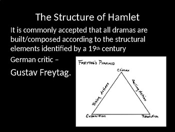 Structure in Hamlet- Focus on Act 1 - The Exposition