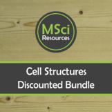 Structure of Animal Plant Fungal Bacterial Cells Biology Doodle Sheet BUNDLE