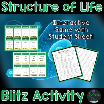 Structure of Life Blitz Activity