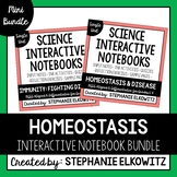 Homeostasis, Immunity and Disease Interactive Notebook Unit Bundle