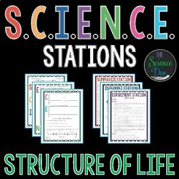 Structure of Life S.C.I.E.N.C.E. Stations Bundle