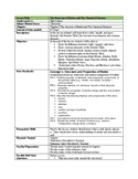 Structure of Matter Lesson Plan