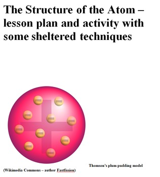 Structure of the Atom with foldable activity