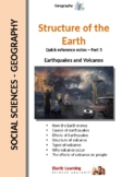 Structure of the Earth - Earthquakes and Volcanoes