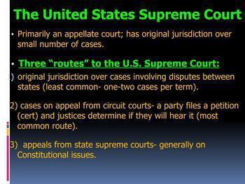 Judicial Branch Lesson