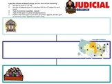 Structure of the Federal Judicial Branch Graphic Organizer