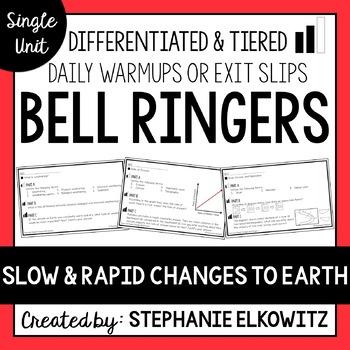 Slow vs. Rapid Changes Bell Ringers