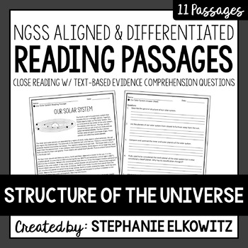 Structure of the Universe Reading Passages