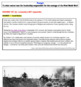 Structured-Academic Controversy (Contemporary Debate): World War I Technology!
