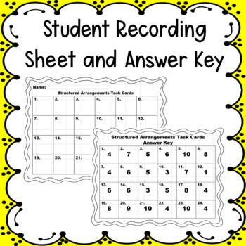 Structured Arrangements Task Cards