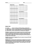 Structured Behavioral Observation Form - Academic Engagement