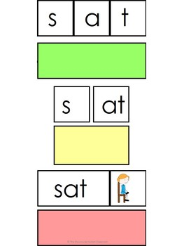 Word Family- at Decoding Task (Autism and Special Education)