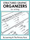 Structured Graphic Organizers for Kindergarten, 1st, or 2nd Grade