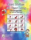 Daily Kindergarten Writing Activities, Lessons, Prompts -