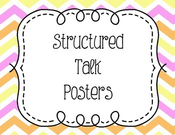 Structured Talk Posters