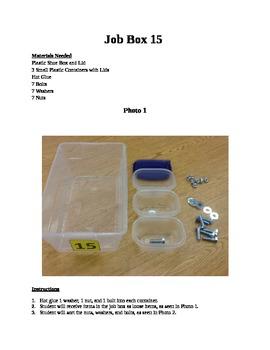 Structured Teaching Job Box 15