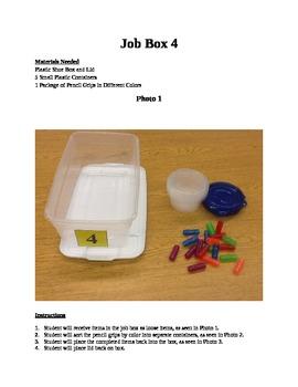 Structured Teaching Job Box 4