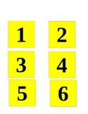 Structured Teaching Job Box Number Labels