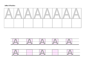 Structured Visual Prompt Letter Formation and Practice