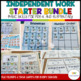 Independent Work System Preschool-Elementary Starter Bundle