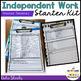 independent Work System Starter Kit for Autism--Elementary Version