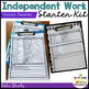 independent Work System Starter Kit for Autism--Elementary Version