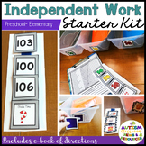 independent Work System Starter Kit for Autism--Elementary