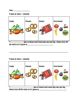 Structured classroom chart