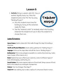 Structures Lesson 6 - Building Project