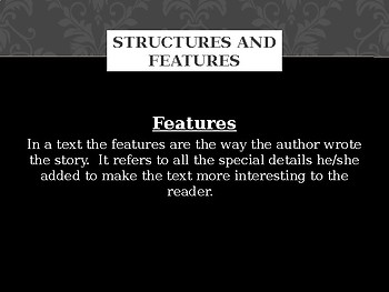 Structures and Features