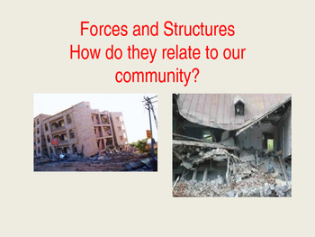 Structures and Forces Powerpoint: Students being community activists