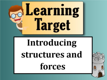 Structures and Forces Unit Introduction