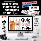 Structures and Functions of the Ear / Quiz-Quiz-Trade
