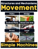 Structures and Mechanisms MOVEMENT & SIMPLE MACHINES Print & Digital ONTARIO SCI