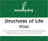 Structures of Life - Heredity and Diversity (FOSS) Interactive Science Notebook