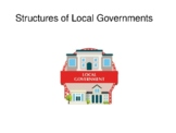 Structures of Local Government
