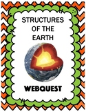 Structures of the Earth Webquest