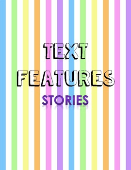 Features within Fiction Texts and Questions