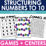 Structuring Numbers to 10
