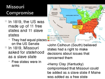 Struggle Over Slavery