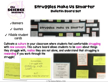Struggles Make Us Smarter Bulletin Board