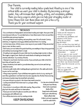 Parent Letter: Struggling Reader Grades 2-6