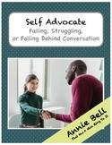 Struggling Student Self Advocacy Tool