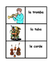 Strumenti musicali (Musical instruments in Italian) Concentration games
