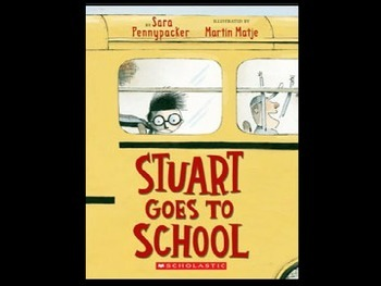 Stuart Goes To School Vocabulary Powerpoint