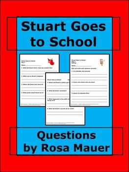 Stuart Goes to School Literacy Unit