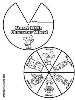 Stuart Little Craft   Stuart Little Activity   Stuart Little Book Study Activity