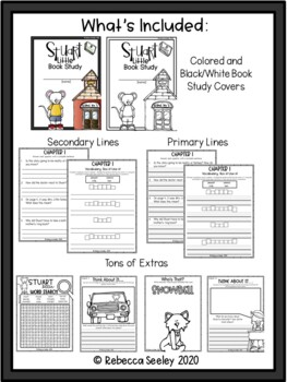 Stuart Little: A comprehensive Book Study