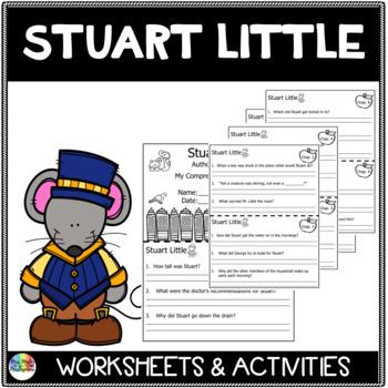 Stuart Little Novel Study and Comprehension Activities
