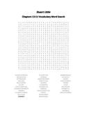 Stuart Little Chapters 13-15 Vocabulary Word Search - E.B. White